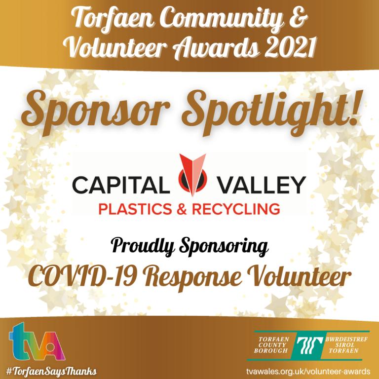 #TorfaenSaysThanks Sponsor Spotlight @CVP1987 #COVID19ResponseHero
