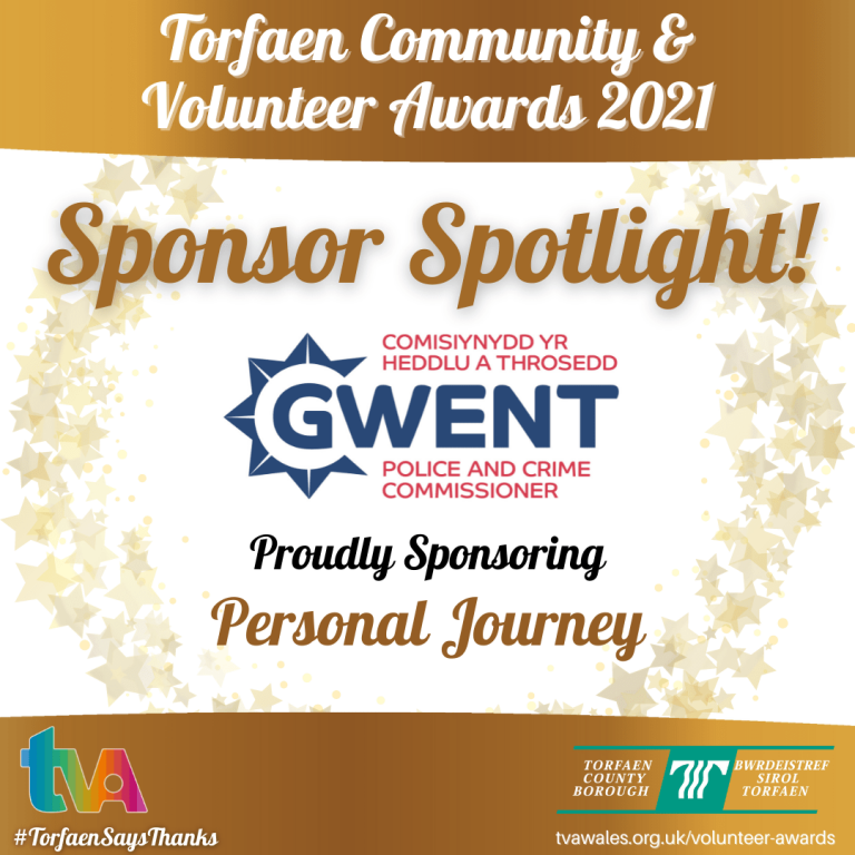 #TorfaenSaysThanks Sponsor Spotlight @GwentPCC #PersonalJourney