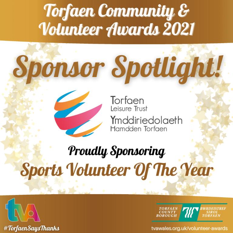 #TorfaenSaysThanks Sponsor Spotlight @TorfaenLeisureT #SportsVolunteer