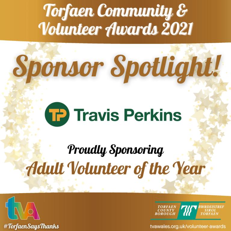 #TorfaenSaysThanks Sponsor Spotlight @TravisPerkinsCo #AdultVolunteer