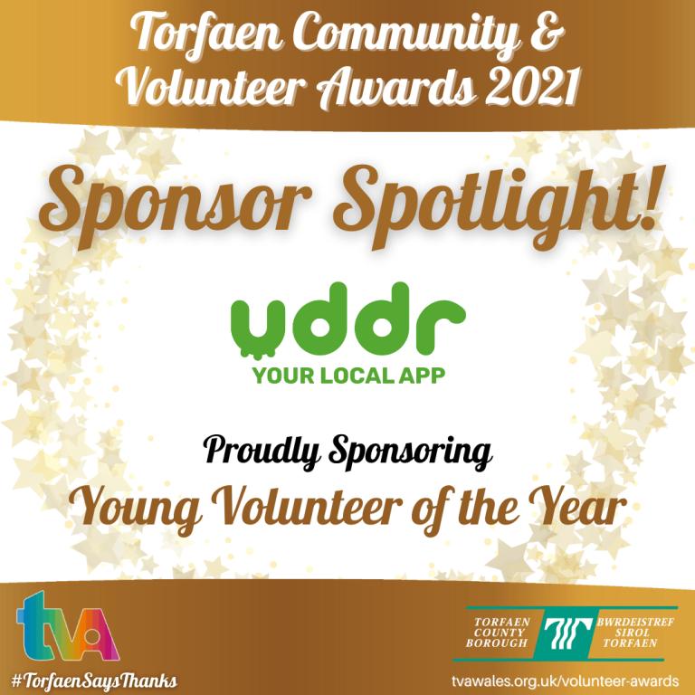 #TorfaenSaysThanks Sponsor Spotlight @uddrservices #YoungVolunteer